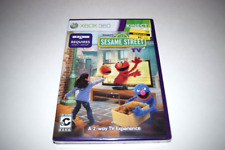 Sesame Street TV Kinect Microsoft Xbox 360 Video Game New Sealed