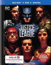 Justice League(Blu-Ray+Dvd+Digita l)Target Exclusive 64 Pg Book New