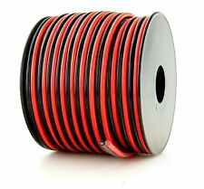 12 Gauge 100FEET 99.9% Copper stranded OFC Bonded Cable Red/Black Wire Spool Z12