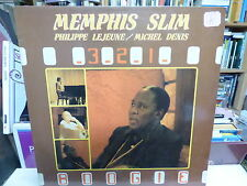 Menphis Slim : Philippe Lejeune / Michel Denis :  3-2-1 Boogie  Blue silver