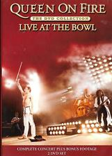 Queen 2Dvd set - Live At The Bowl, excellent