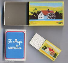 Mulino Bianco Sorpresine - Gli Allegri Cancellini Scatolina  - completa nuova