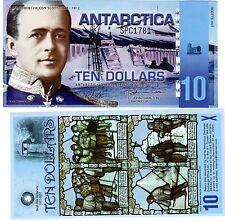 Antarctica Billet 10 DOLLARS PNL 2011 POLYMER NOUVEAU NEUF UNC