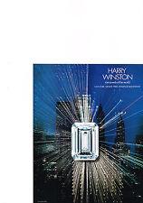 PUBLICITE  1976   HARRY  WINSTON  joaillier