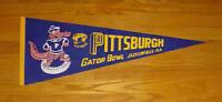 1977 Pittsburgh Panthers Gator Bowl pennant PITT University NCAA Football