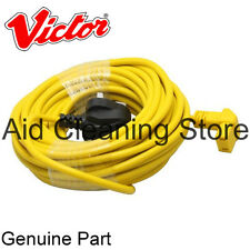 Victor V9 HEPA Hoover Vacuum Cleaner 12.5M MAINS POWER YELLOW Cable Lead C4900
