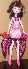 Mattel Monster High Doll Draculaura Ghoul to Bat Party Outfit Pink Shoes Wings