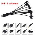 10 IN 1 UNIVERSAL USB MULTI CHARGER CABLE ADAPTER FOR MOBILE PHONE PSP CAR LG U-
