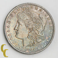1884-O Morgan Silver Dollar (Choice BU) Terrific Eye Appeal! Rainbow Toning!