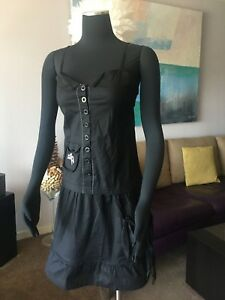 AUTH COP. COPINE COTTON BLEND STRETCH DRESS NWT Size S, M
