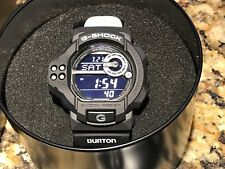 Burton Snowboard Casio G-Shock Watch Collaberation Rare GDF-100BTN BLACK