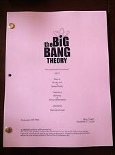 "The Big Bang Theory TV Script Final Draft ""The Vartabedian Conundrum Episode 210"