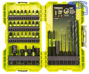 Ryobi 38 Piece Mixed Drilling & Screwdriving Set RAK38DSDI2 5132004388