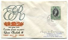 Cayman Islands QEII 1953 cacheted Coronation First Day Cover
