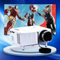 Mini Home Cinema Theater 1080P HD Multimedia USB LED Projector AV TV VGA HDMI XI