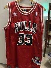 Scottie Pippen Adidas Hardwood Classic NBA Chicago Bulls Jersey 95-96 Size M