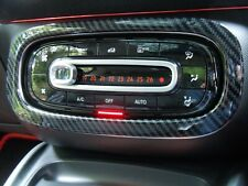 SMART 453 Fortwo Forfour A/C Air Con Surround Cover CARBON FIBER EFFECT
