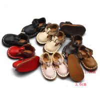 Mini chaussures en cuir 3,5 cm pour BJD Joint Blyth Doll 1/6 30 cm Accessoires