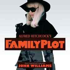 Hitchcock's FAMILY PLOT Film Soundtrack CD (John Williams) Limited, *SEALED,NEW*