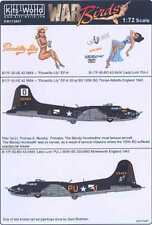 Kits World Decals 1/72 BOEING B-17F FLYING FORTRESS Piccadilly Lily & Lady Luck