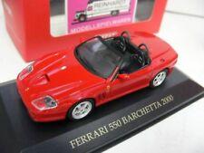 1/43 Ixo ferrari 550 barchetta 2000 rojo
