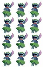 One Dozen Disney's Lilo and Stitch Cupcake Toppers Edible Image Stitch