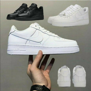 New AIR FORCE 1'07 Sneaker Women Men Sports Shoes Sneakers White Leather