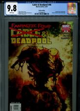 Cable & Deadpool 46 CGC 9.8 Zombie variant cover Fantastic Four X-Force X-Men