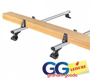 "Ladder Clamps Load Stops 4"" for T Track Slot Aero Aluminium Roof Rack Bars PK4"