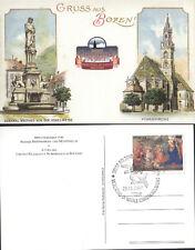 1997 MERCATINO DI NATALE BOLZANO CARTOLINA CIRCOLO FILATELICO BOLZANO (B200)