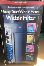 Omnifilter BF7 Whole House Water Filter RS6 Filtration System with Housing