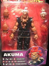 Capcom: Sota Toys: STREET FIGHTER Round 4: SHIN AKUMA (Variant) figure - RARE