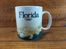 Starbucks Florida Alligator Coffee Mug Cup Tea 16 Oz Global Icon Collection 2011