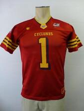 boys youth Medium 12-14 ISU IOWA STATE CYCLONES #1 football jersey shirt red