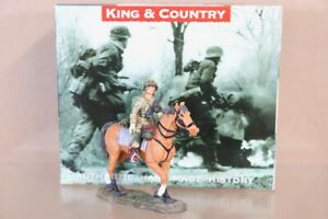 KING & COUNTRY DD071 D DAY 1944 AIRBORNE MOUNTED HORSE PARATROOPER BOXED nv