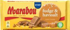 5-Pack of Marabou Fudge & Havssalt - Swedish Milk Chocolate with Fudge & Seasalt