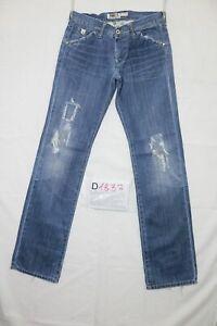 Take Two brick B. strappato usato (Cod.D1837) W30 L/ denim jeans dritto
