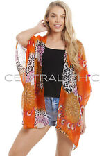 Central Chic Womens Pretty Kaftans Kimonos Beach Cover Up Evening Top Blouse
