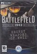 PC Gioco BATTLEFIELD 1942 SECRET WEAPONS WWII expansion pack nuovo italiano