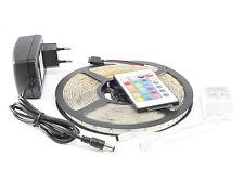 Komplett Satz 5m RGB SMD LED Strip Band Leiste Streifen inkl. Fernbedienung