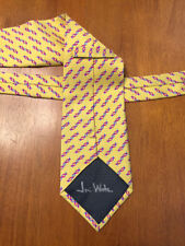 JAMES D. WATSON SIGNED DOUBLE HELIX DNA TIE CO-DISCOVERED DNA NOBEL BECKETT BAS