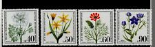 GERMANY . BERLIN. ENDANGERED WILD FLOWERS 1980 MNH