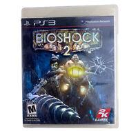 BioShock 2 (Sony PlayStation 3, 2010)- Complete, Tested -Damaged Case