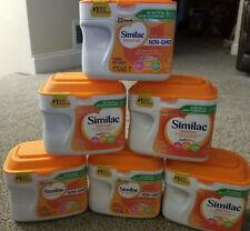 6x Similac Sensitive Non-Gmo Baby Infant Formula Iron Fussiness Gas, 1.41 lbs *