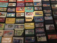Lot Of 71 Assorted Famicom Games