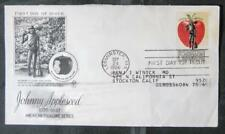 First Day Cover Machine Addressed - Grandma Moses - 2 Johnny Appleseed