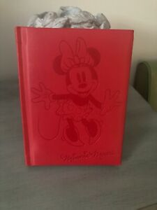 Hallmark Red Embossed Minnie Mouse Journal New