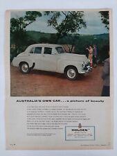 Vintage Australian advertising 1955 ad GMH GENERAL MOTORS HOLDEN CARS