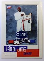 2003 03 OMR Limited Edtion Future Star LeBron James Rookie RC #NNO, #'d /250