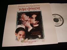 "THE AGE OF INNOCENCE<>2X12"" Laserdiscs<>COLUMBIA HOME VIDEO 52636"